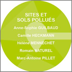Équipe sites et sols pollues, calligee.fr, calligee.eu, sciences et techniques géologiques