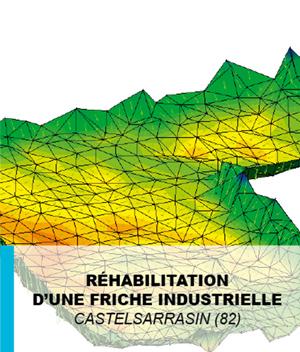 Mission de maitrise d'œuvre dans le cadre de la réhabilitation d'une friche industrielle en matière d'assainissement pluvial, 2016