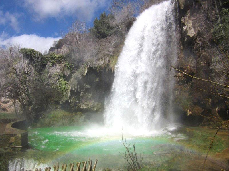 Traçage de la cascade de Salles la Source – Calligée