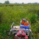 Dispositif de tomographie électrique dans les marais de la Loire – Calligée