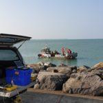 Campagne sismique au port de La Turballe - Calligée