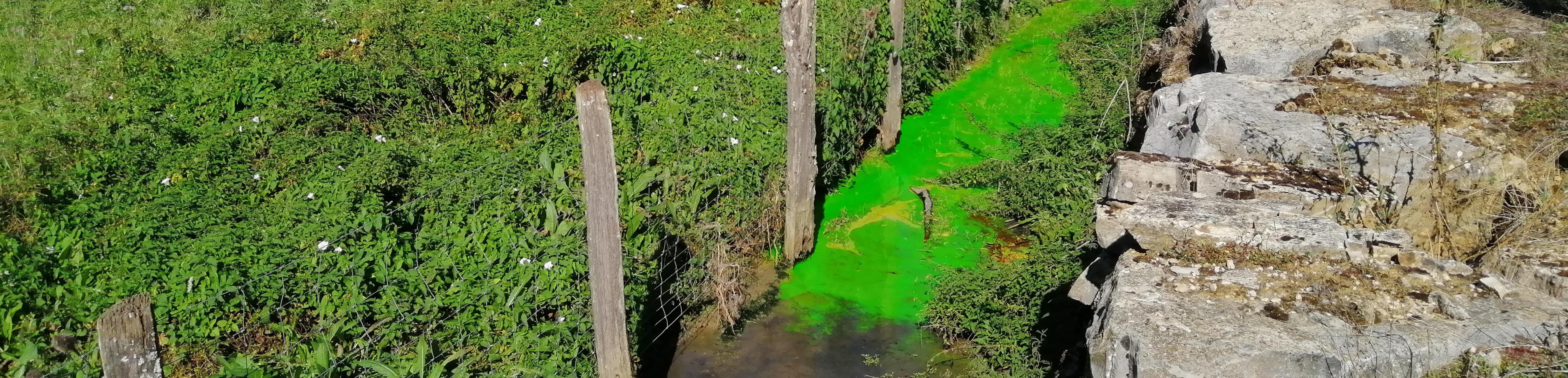 2020 Hydrogéologie traçage Calligée Aveyron