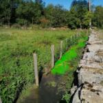 2020 Hydrogéologie traçage Calligée Aveyron Colorant
